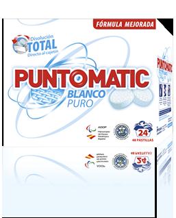 Pastilas Puntomatic Blanco Puro (24)