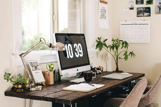 oficina perfecta en casa