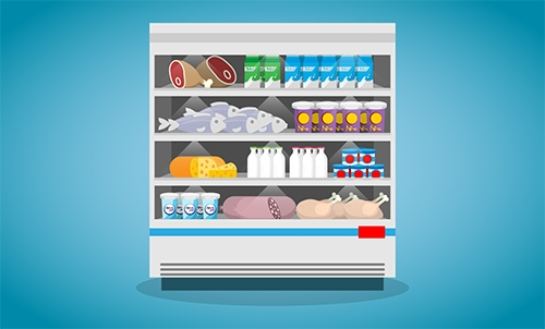 almacenar los alimentos