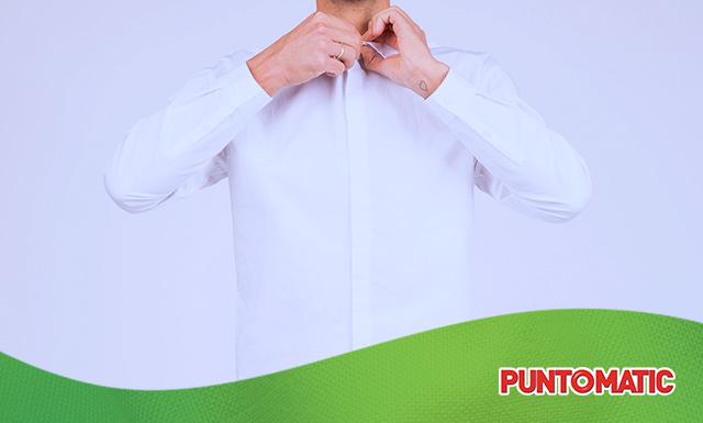 Lavar los puños y cuellos de las camisas